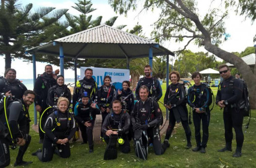 Dive For Cancer Perth 2015
