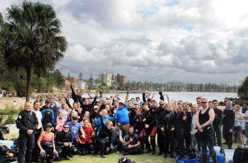 Dive For Cancer Sydney 2015