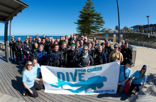 Dive For Cancer Adealaide 2014
