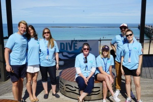 Dive For Cancer volunteers