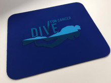 Dive For Cancer mouse pad