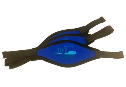 Dive For Cancer mask strap