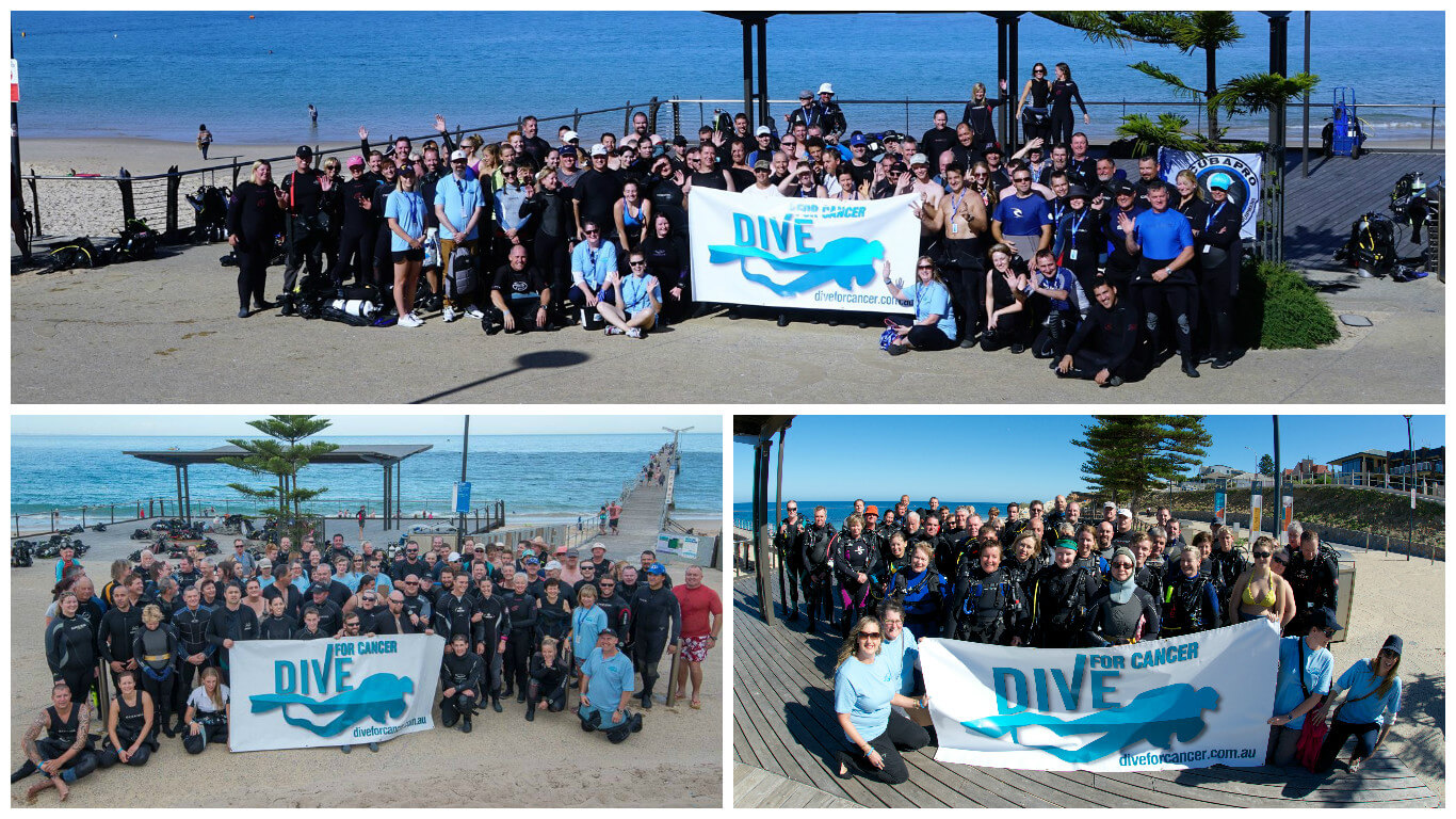 Dive for Cancer Day Earns Nationwide Recognition for Support of Cancer Council