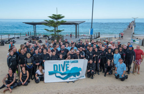 Dive For Cancer Adelaide 2015